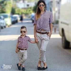 5aa8e19a306e Family look (фэмили лук) в переводе с английского означает «семейный  образ». Это когда одежда и аксессуары членов семьи по стилю, цвету и  фактуре идеально ...